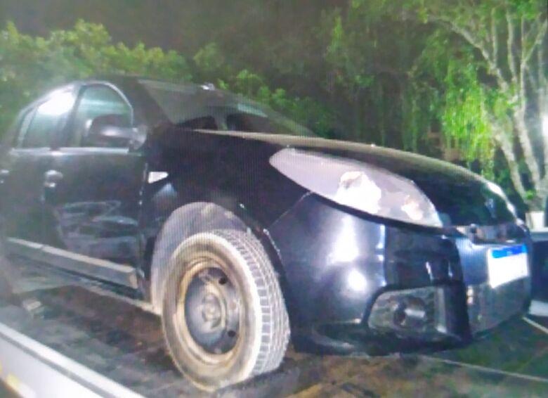 Sandero teria sido furtado na cidade de Limeira - Crédito: Divulgação