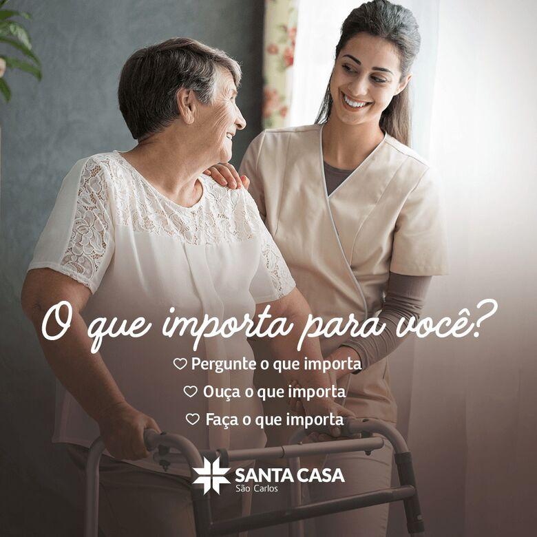 """Santa Casa adere ao movimento global """"O Que Importa Para Você?"""" -"""