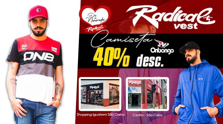Presenteie com a Radical Vest neste Dia dos Namorados - Crédito: Divulgação