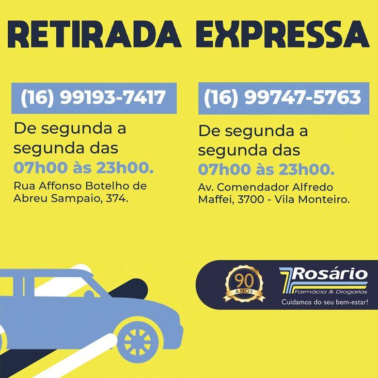 Retirada Expressa: peça pelo celular e retire seu pedido sem sair do carro -