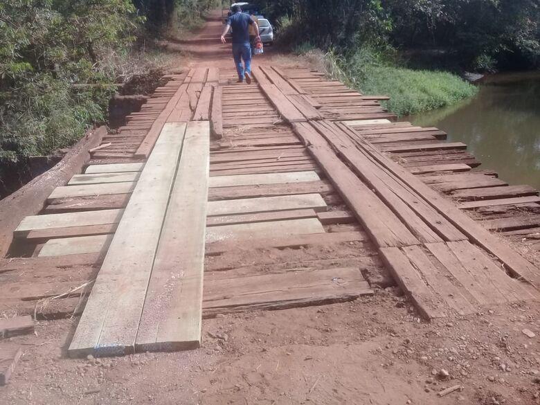 Investimento será de R$ 25 mil para a troca de todas as pranchas e torras de madeiras - Crédito: Divulgação