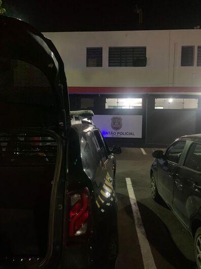 Acusado de furto foi detido pela GM em Ibaté - Crédito: Divulgação