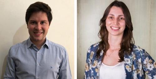 Guilherme Scagnolatto e Jaqueline Vidotti decidiram avançar nas pesquisas relacionadas à energia heliotérmica - Crédito: Divulgação