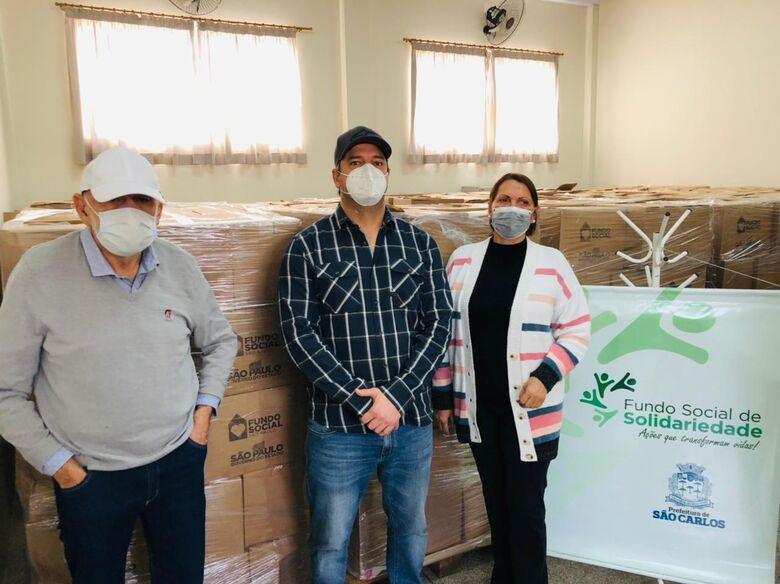 FSS recebe 2 mil cestas básicas do Governo do Estado - Crédito: divulgação