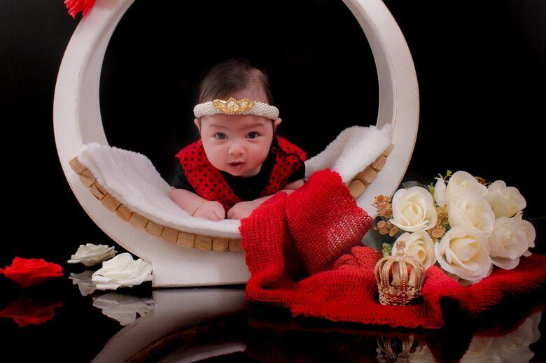 Estúdio Baby se torna referência em fotos de bebês de Ibaté - Crédito: divulgação