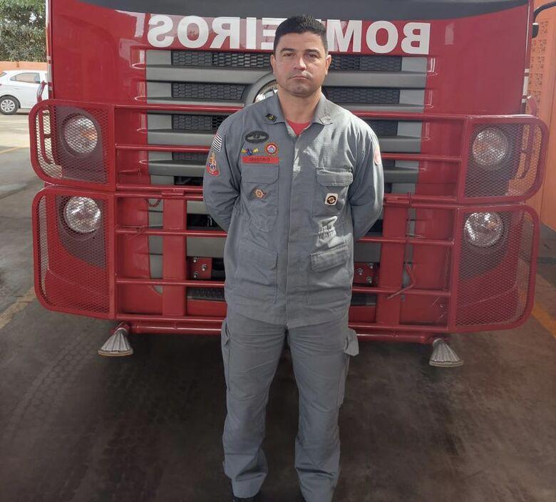 Capitão Rangel Moreira Gregório, comandante do 4º SGB (Subgrupamento de Bombeiros) de São Carlos - Crédito: Arquivo SCA