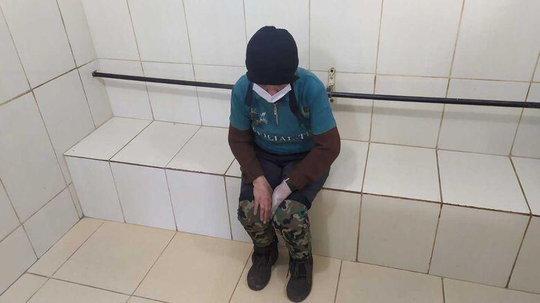 Mulher de 65 anos é presa por tentativa de furto na região da Praça Itália - Crédito: Maycon Maximino