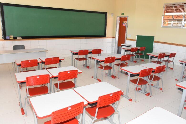Escola municipal - Crédito: divulgação