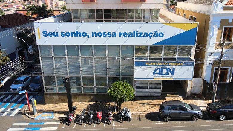 Atual sede da empresa em São Carlos, na principal avenida. ADN atua em mais 24 cidades e possui base de novos negócios em Campinas e Ribeirão Preto. - Crédito: divulgação