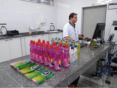 Os exames foram feitos nos laboratórios do Ipem-SP na capital, Bauru e Campinas - Crédito: Divulgação