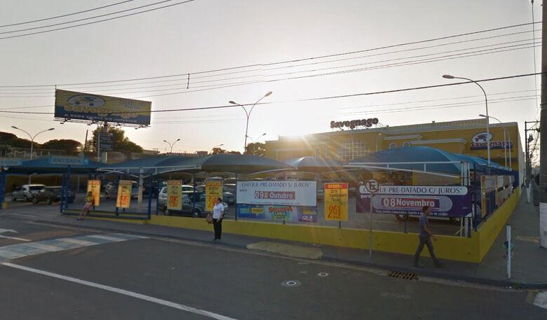 Caso teria ocorrido no supermercado Savegnago da Praça Itália - Crédito: Google Maps
