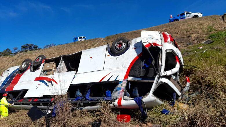 Acidente com ônibus deixa 3 pessoas mortas e 37 feridas na Washington Luis - Crédito: Divulgação