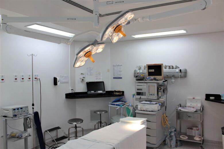 Todas as 10 salas do Centro Cirúrgico da Santa Casa foram revitalizadas - Crédito: Assessoria Santa Casa