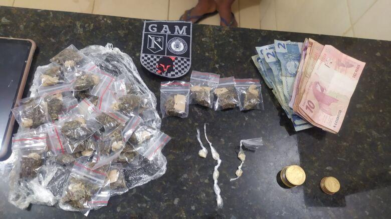 Trio de adolescentes é detido com drogas no Jóquei Clube - Crédito: Maycon Maximino