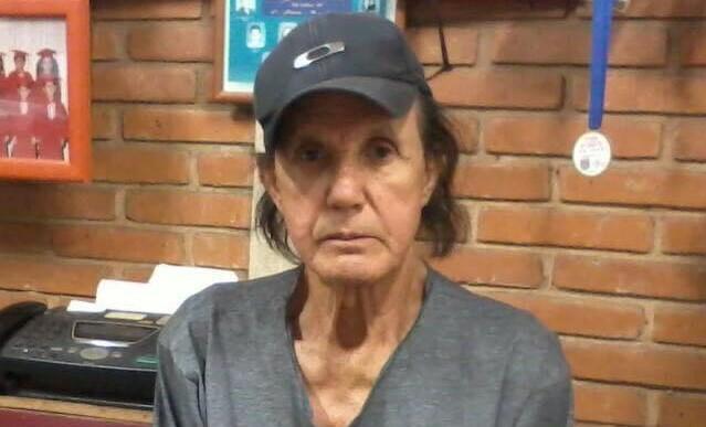 Professor Romeu Bertho, 84 anos, foi vítima de um chute no rosto - Crédito: Divulgação