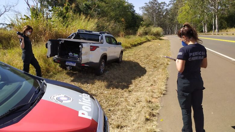 Toro foi recuperada e um dos bandidos foi detido pela Polícia Militar e recolhido ao centro de triagem - Crédito: Maycon Maximino