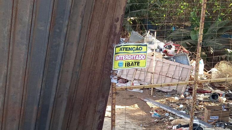 Operação Ferro Velho interditou estabelecimento no Jardim Cruzado - Crédito: Divulgação