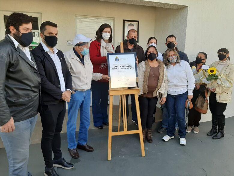 Prefeito Airton Garcia entrega oficialmente obras de reforma da Casa de Passagem -