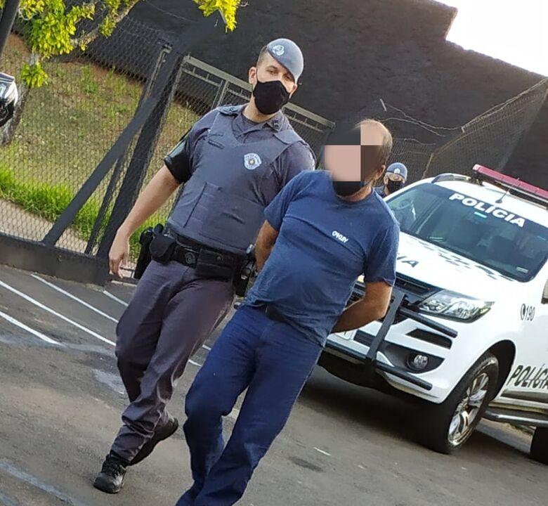 Procurado por homicídio no estado de Minas Gerais é capturado pela Força Tática - Crédito: Maycon Maximino