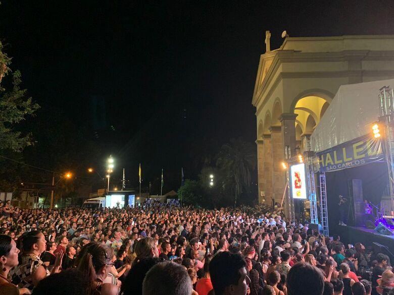 Em 2019, antes da pandemia da Covid-19, o Hallel reuniu milhares de participantes - Crédito: Arquivo/São Carlos Agora