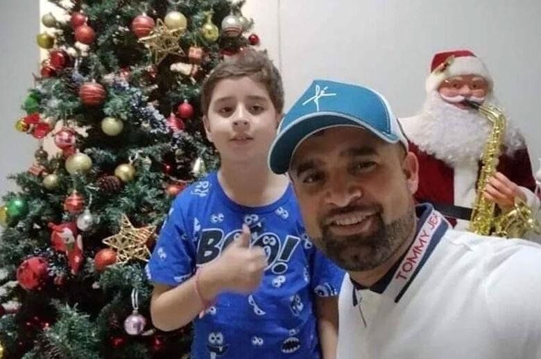 Pai e filho morreram afogados - Crédito: arquivo pessoal
