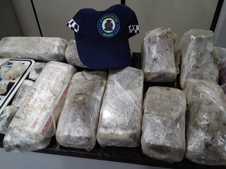 GM apreende grande quantidade de drogas no Santa Angelina - Crédito: Maycon Maximino
