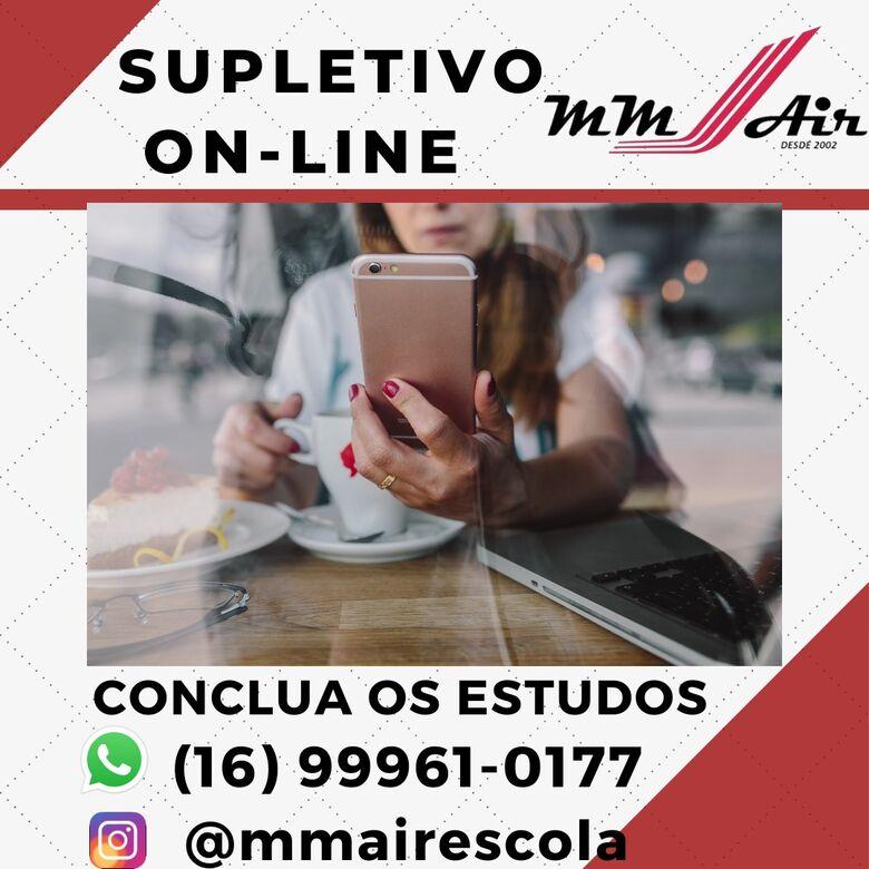 Escola de São Carlos oferece ensino supletivo a distância - Crédito: Divulgação