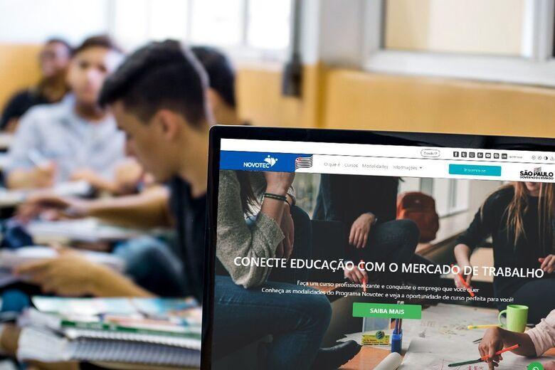 SP anuncia auxílio de R$ 600 para 30 mil alunos do Novotec Expresso - Crédito: divulgação