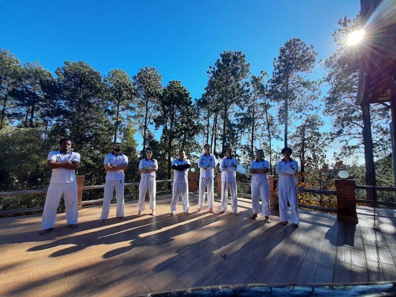 Time são-carlense participou de um treino de campo como fase de preparação para a temporada - Crédito: Divulgação