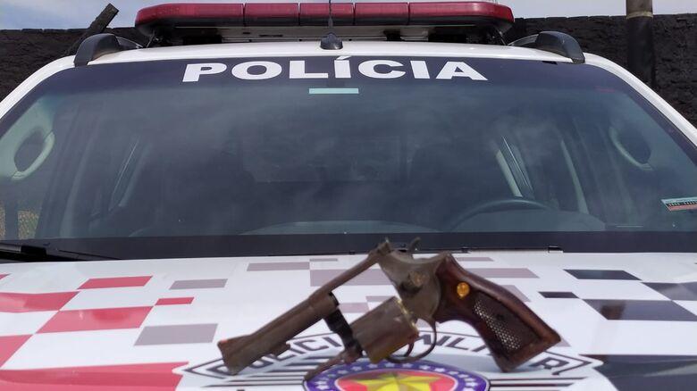 Em rápida ação, Polícia Militar prendeu quatro suspeitos de estar envolvidos em um assalto - Crédito: Maycon Maximino