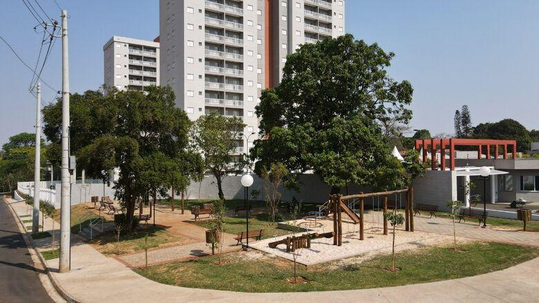Praça Maria Divina Borges será entregue neste sábado (25) - Crédito: divulgação