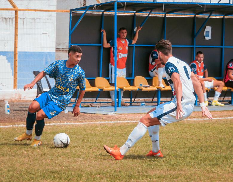 Em uma partida bem disputada, Grêmio e São Carlos empataram o clássico nº 2 - Crédito: Brendow Felipe/São Carlos FC