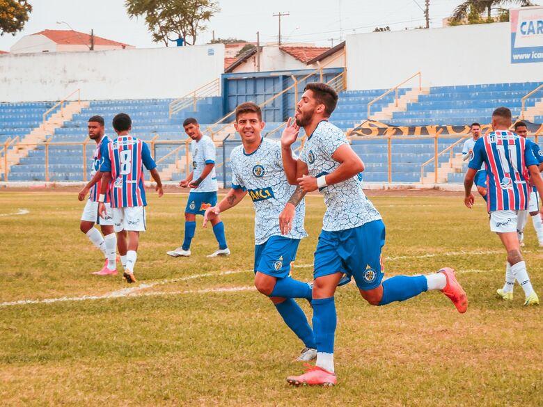 Voltar a marcar: São Carlos quer voltar com pontos de Mogi Mirim - Crédito: Brendow Felipe/São Carlos FC