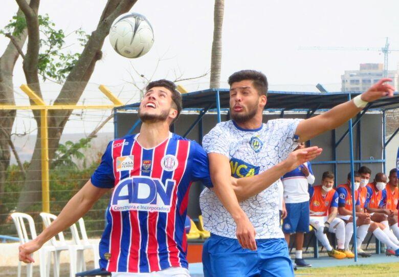 No dérbi nº 1, ninguém levou a melhor: Águia e Lobo terminaram em 1 a 1 - Crédito: Brendow Felipe/São Carlos FC