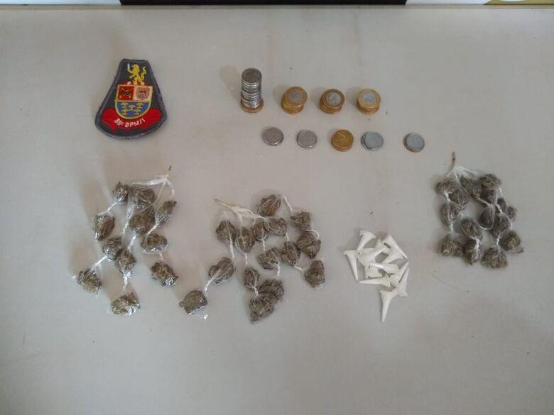 Seis pessoas são presas em operação contra o tráfico de drogas em Dourado - Crédito: divulgação