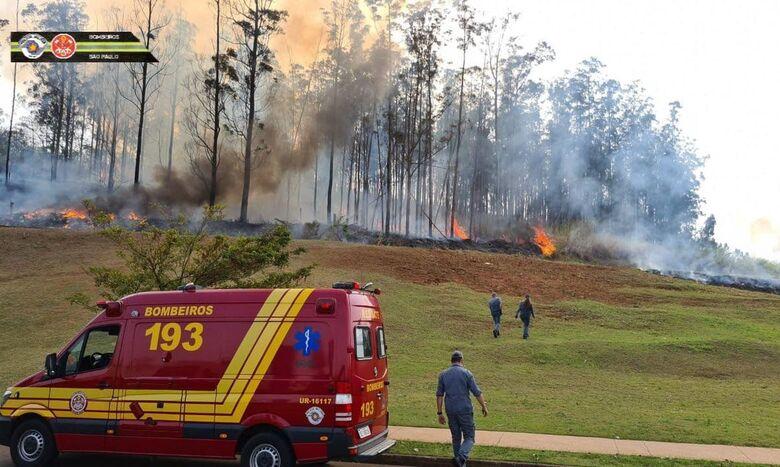 Queda de aeronave em Piracicaba deixa sete mortos - Crédito: © Corpo de Bombeiros PMESP