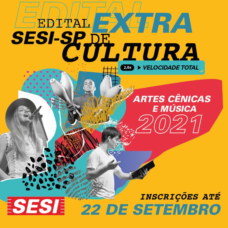 Sesi-SP lança edital extra de cultura que contemplará projetos das áreas de dança, música, artes cênicas e circo -