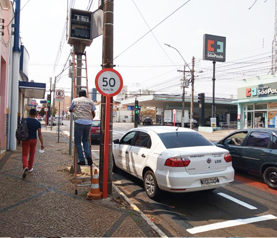 A ação foi realizada pela equipe de fiscalização da regional do instituto em São Carlos - Crédito: Divulgação