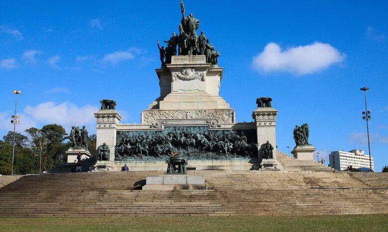 Monumento à Independência do Brasil, também chamado de Monumento do Ipiranga ou Altar da Pátria - Crédito: Agência Brasil