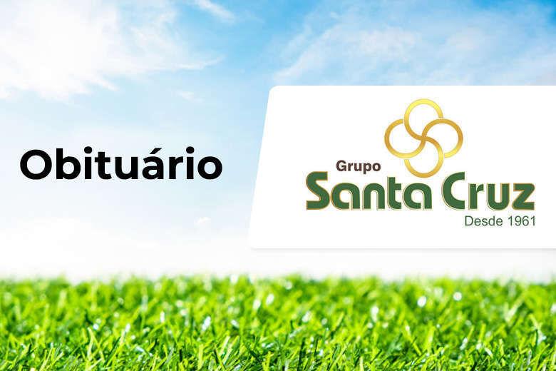 Grupo Santa Cruz informa notas de falecimento - Crédito: Divulgação