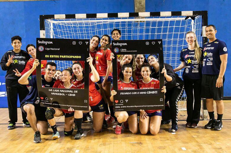 Em São Paulo, H7 Esportes/La Salle fez a primeira apresentação na história pela Liga Nacional - Crédito: Divulgação