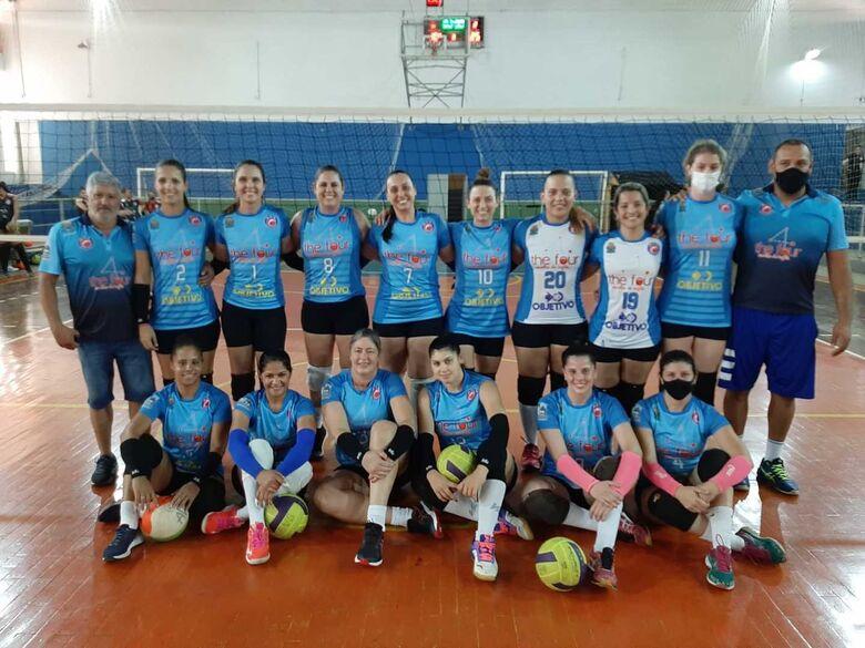 Equipe são-carlense conquistou uma significativa vitória na APV - Crédito: Miltinho Marchetti