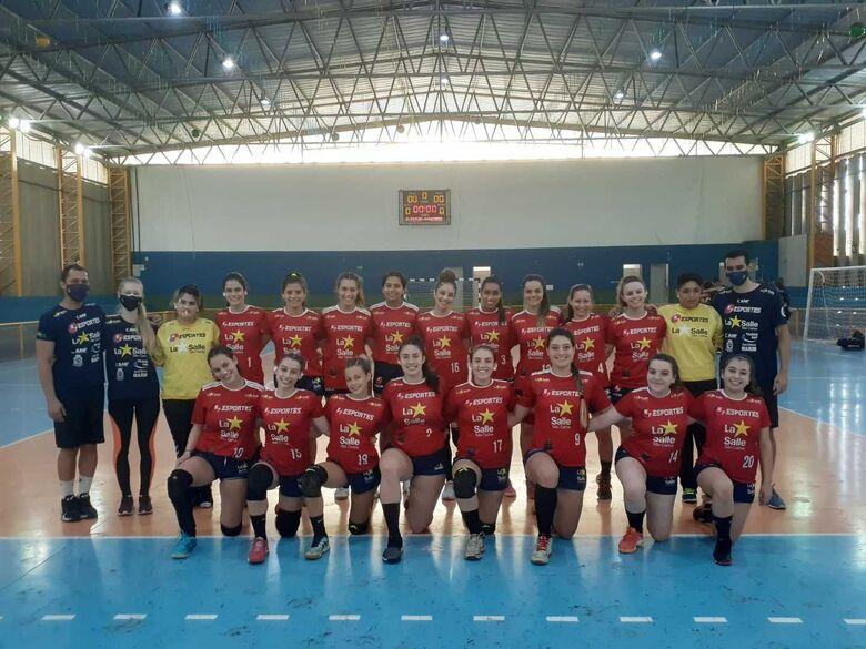 Handebol juvenil inicia a campanha na temporada 2021 e estreia na Copa Derla - Crédito: Marcos Escrivani