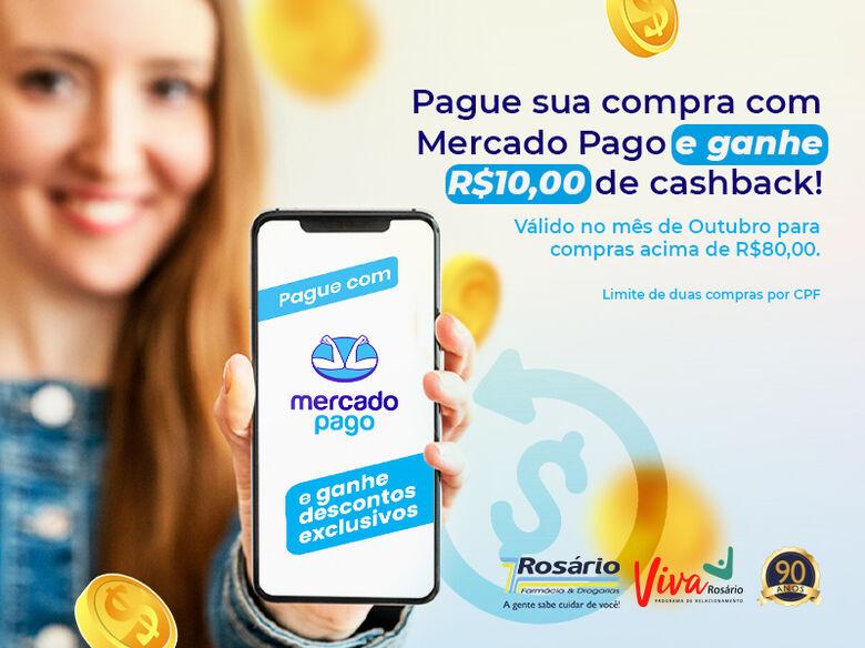 Farmácia Rosário faz parceira com Mercado Pago e traz benefícios no mês de lançamento - Crédito: divulgação