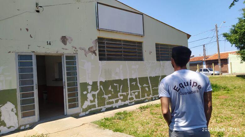 CRAS Santa Felicia recebe reforma através de recursos destinados por Elton Carvalho - Crédito: divulgação