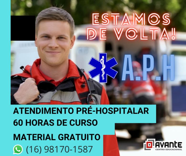 Inscrições abertas para curso de Atendimento Pré-hospitalar (APH) com início em 07 de outubro - Crédito: divulgação
