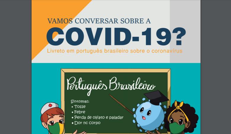 Livretos foram elaborados em diferentes idiomas e o acesso é gratuito - Crédito: Divulgação