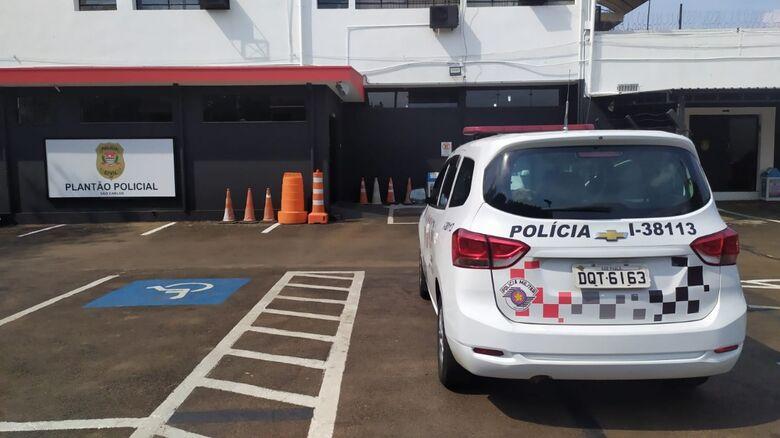 Acusado foi detido por PMs e encaminhado à CPJ - Crédito: Arquivo/São Carlos Agora