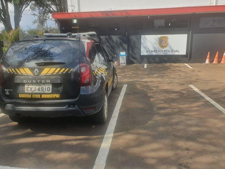 Viatura da Guarda Municipal de Ibaté - Crédito: divulgação