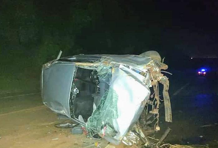 Grávida morre após capotamento em rodovia da região - Crédito: Foto: GPX Online